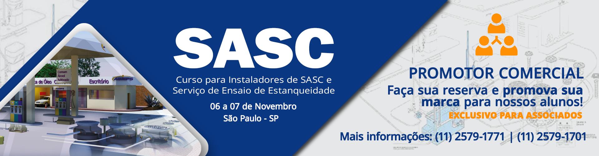 Vantagens exclusivas para associados. Curso para Instaladores de SASC e Serviço de Ensaio de Estanqueidade